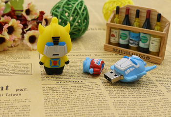 Usb Flash Drive Transformatoru Optimus Pen Drive 64gb Flash Card 32gb Memory Stick Drives16gb PenDrive 8gb 4gb U Diska Jaukā Dāvana